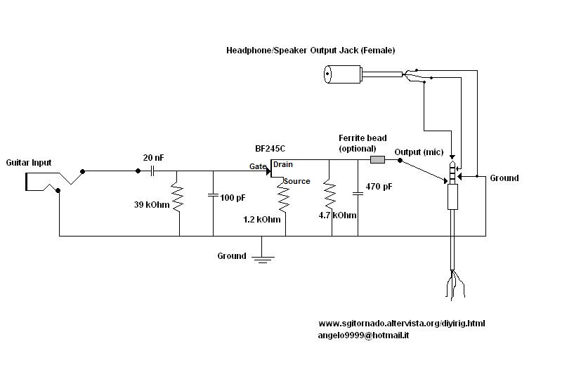irigschematic build your own irig guitar cable for under $15 *pic heavy on irig wiring diagram